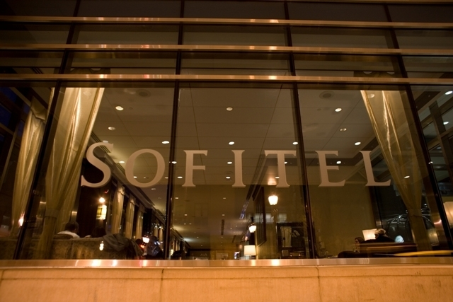 Sofitel Philadelphia Kilts a szabadba