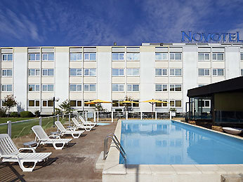 Novotel Bordeaux Le Lac Set udefra