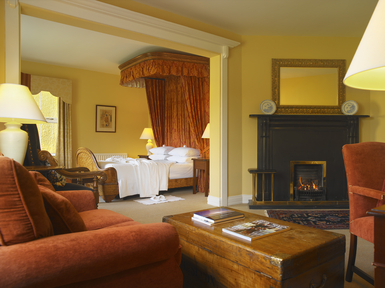 Dunraven arms luxury hotel in adare ireland slh for Garden rooms limerick