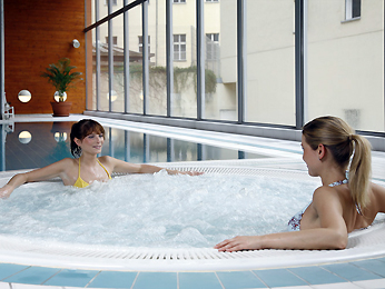 Novotel Wenceslas Square Wellness area