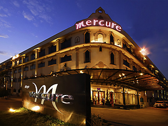 Mercure Vientiane Vista exterior