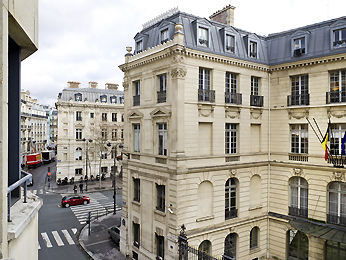 Adagio Access Paris Tilsitt Champs Elysees Vista exterior