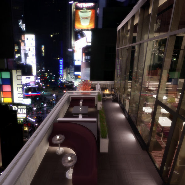 Novotel New York LobbyView