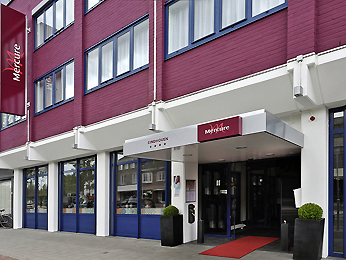 Mercure Eindhoven Hotel Set udefra
