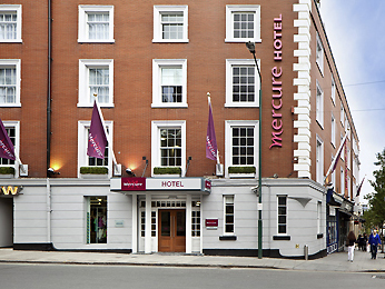 Mercure Nottingham City Centre Hotel Buitenaanzicht
