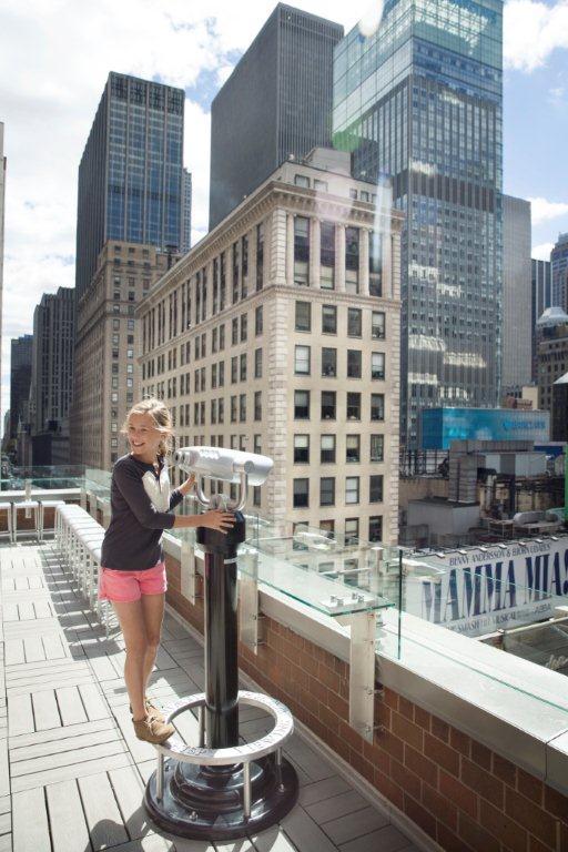 Novotel New York Kilátás a szabadba