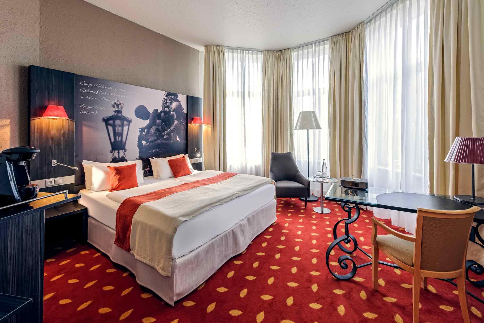 Mercure Hotel Hannover City Szobakilátás