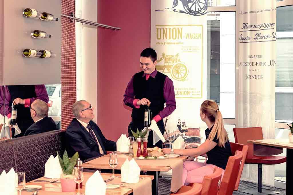 Wöhrdersee Hotel Mercure Nürnberg City Gastronomie