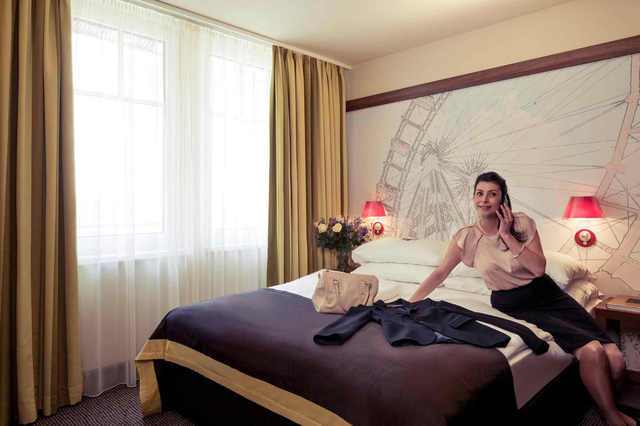 Mercure Wien City Zimmeransicht