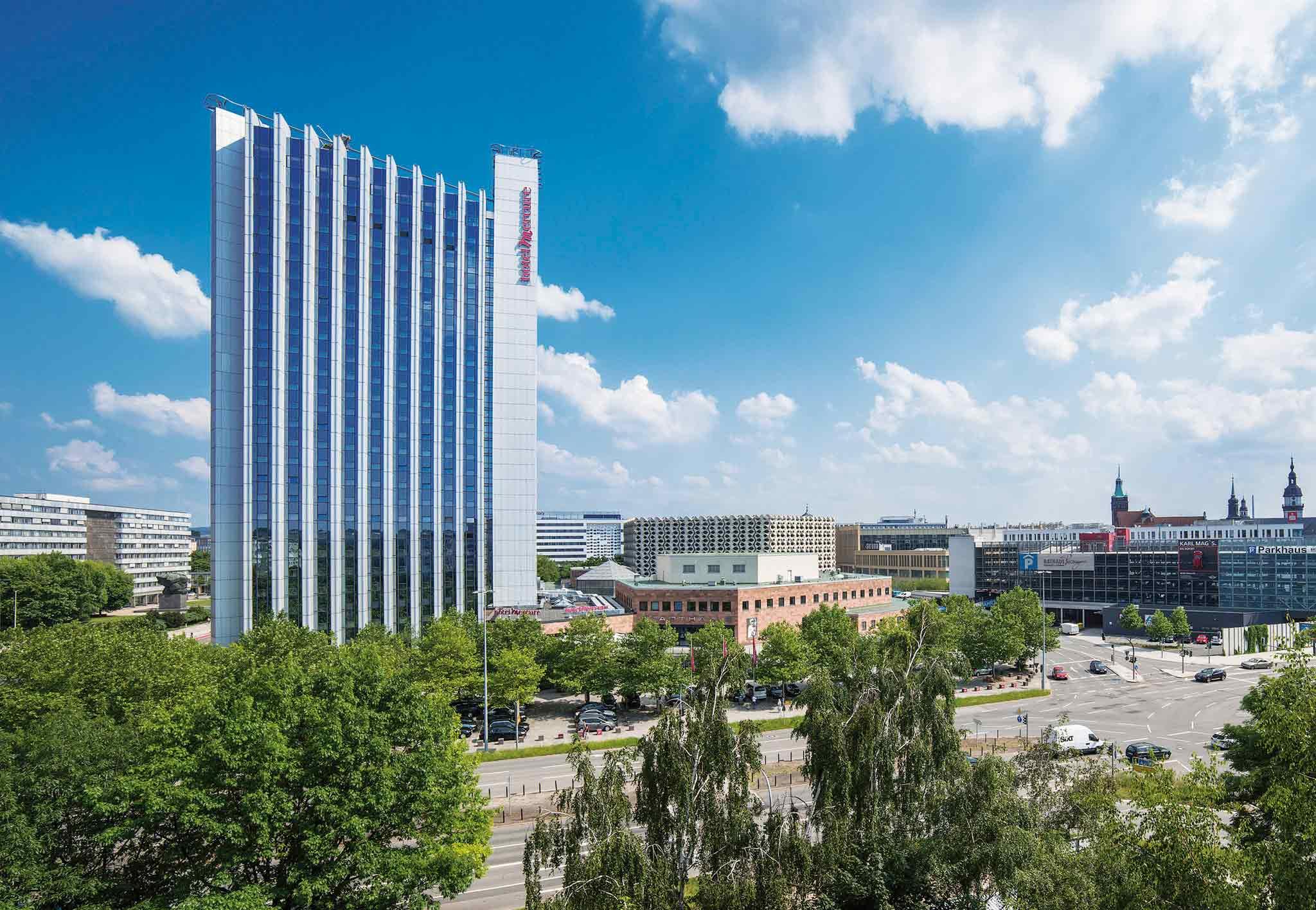 Mercure Hotel Kongress Chemnitz Außenansicht