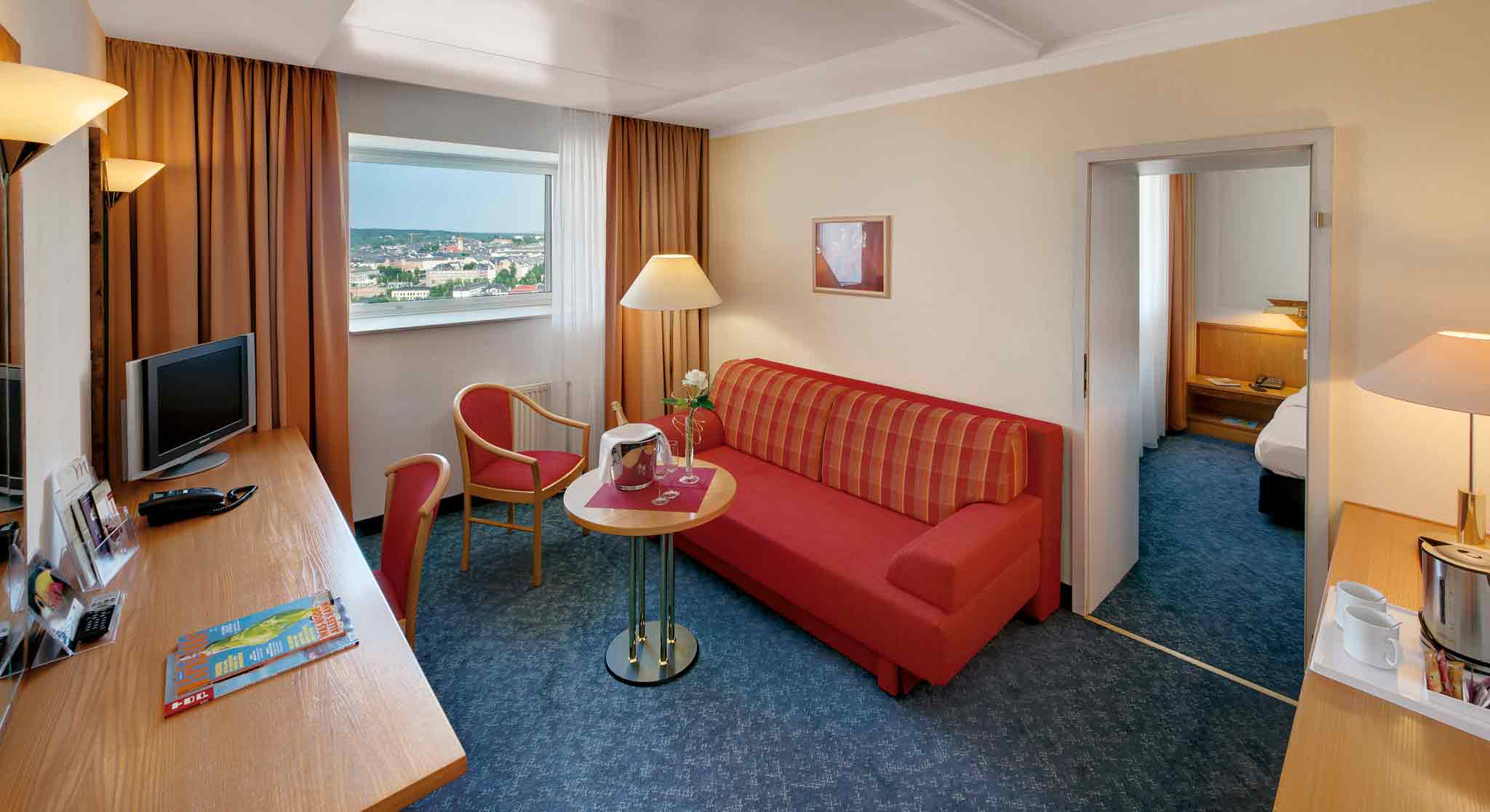 Mercure Hotel Kongress Chemnitz Zimmeransicht