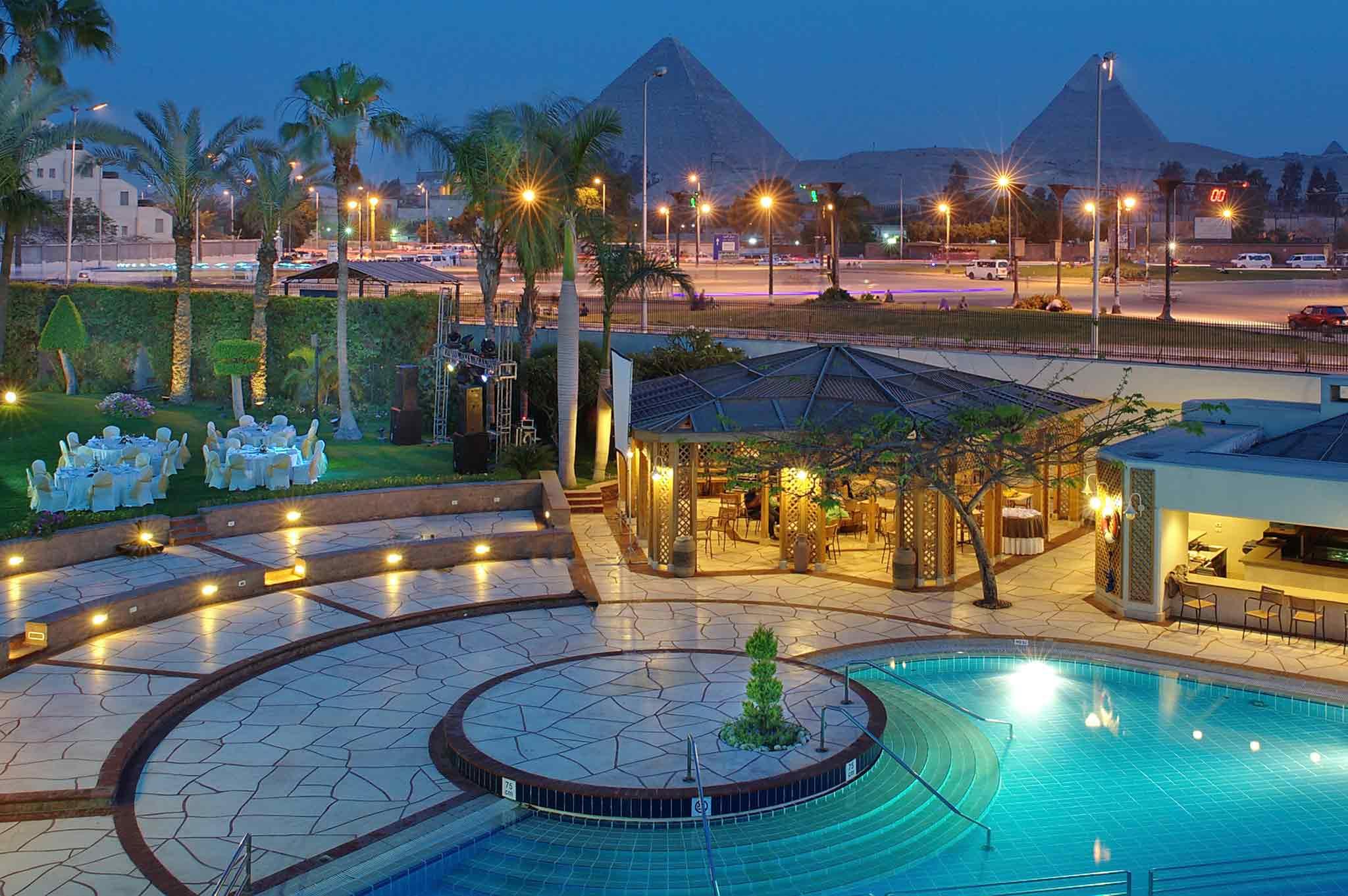 Mercure Cairo Le Sphinx Fasad
