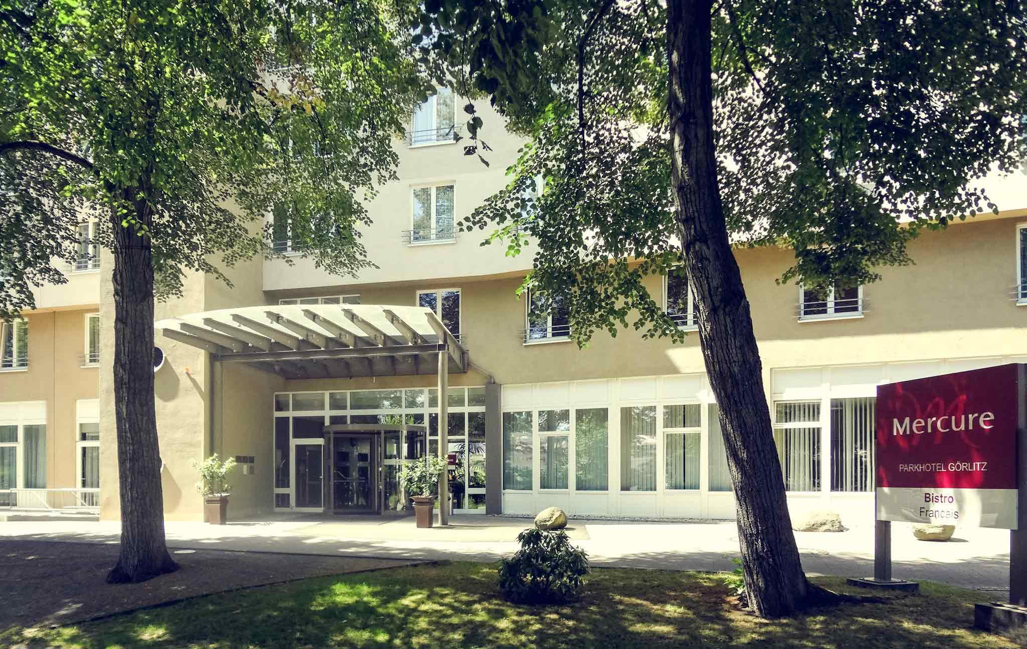 Mercure Parkhotel Görlitz Set udefra