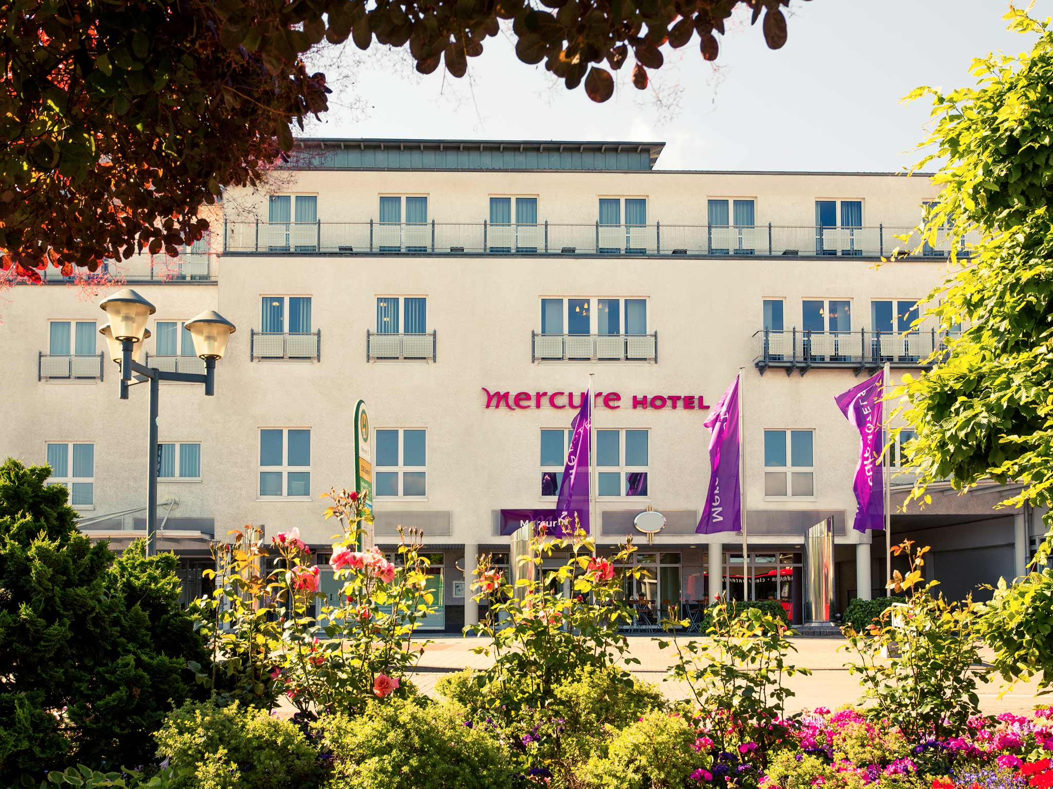 Mercure Hotel Bad Oeynhausen City Exterior view