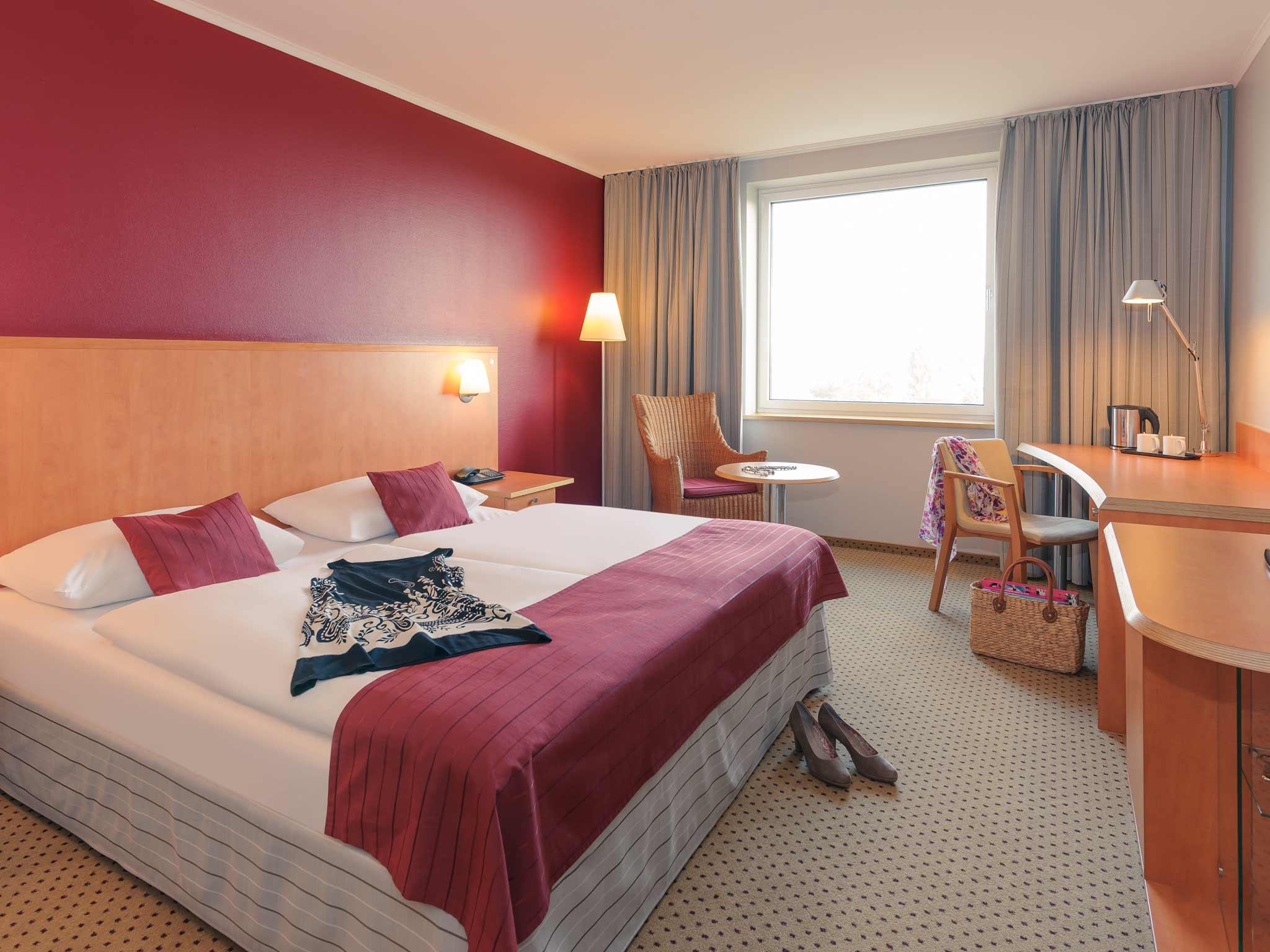 Mercure Hotel Seestern Düsseldorf Zimmeransicht