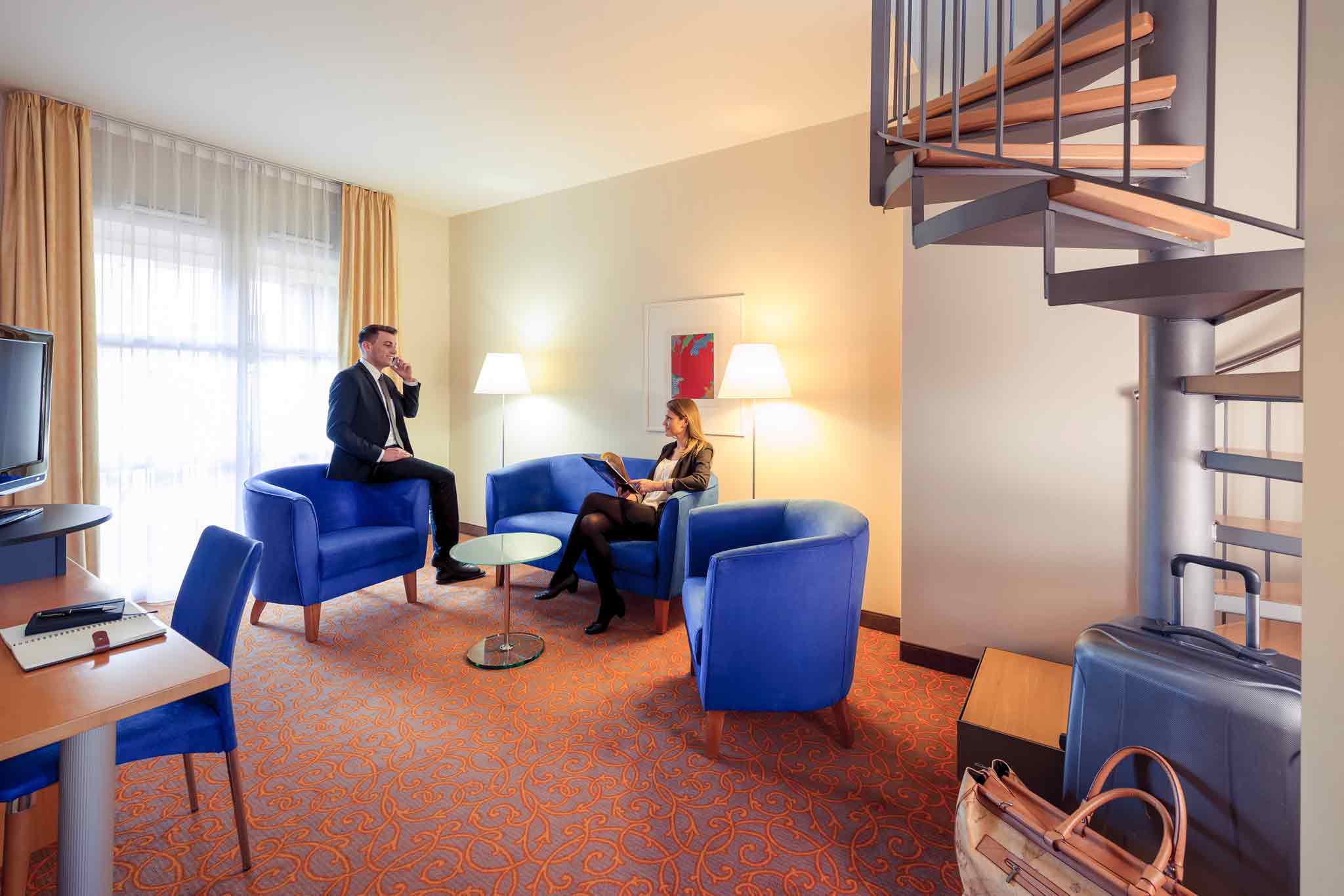 Mercure Hotel & Residenz Berlin Checkpoint Charlie 客房视图