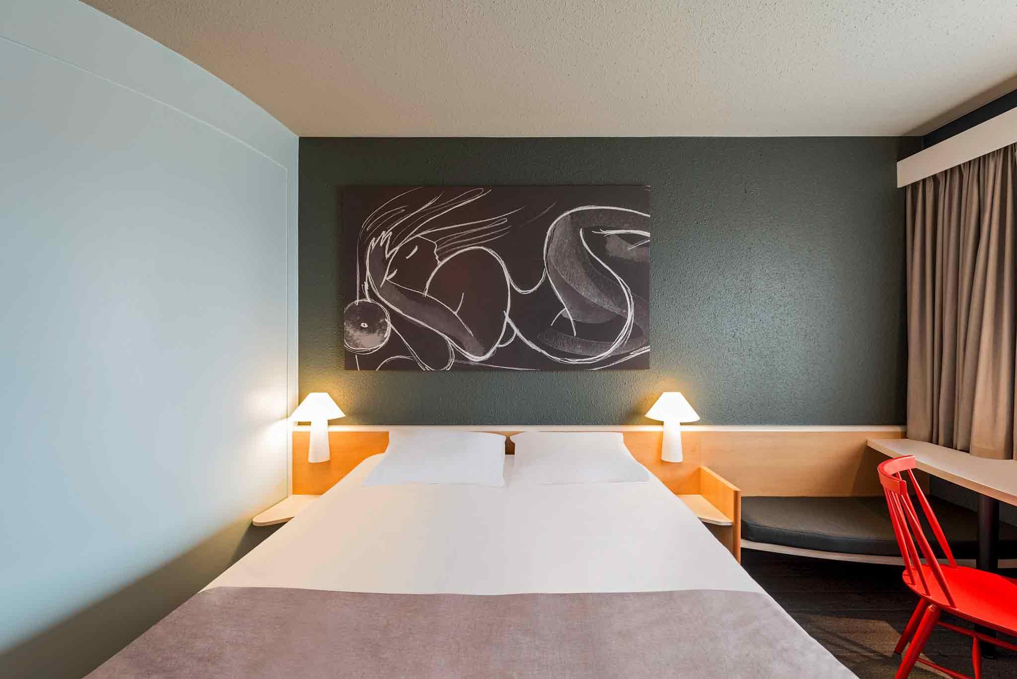 Ibis Hotel München Parkstadt Schwabing View of room