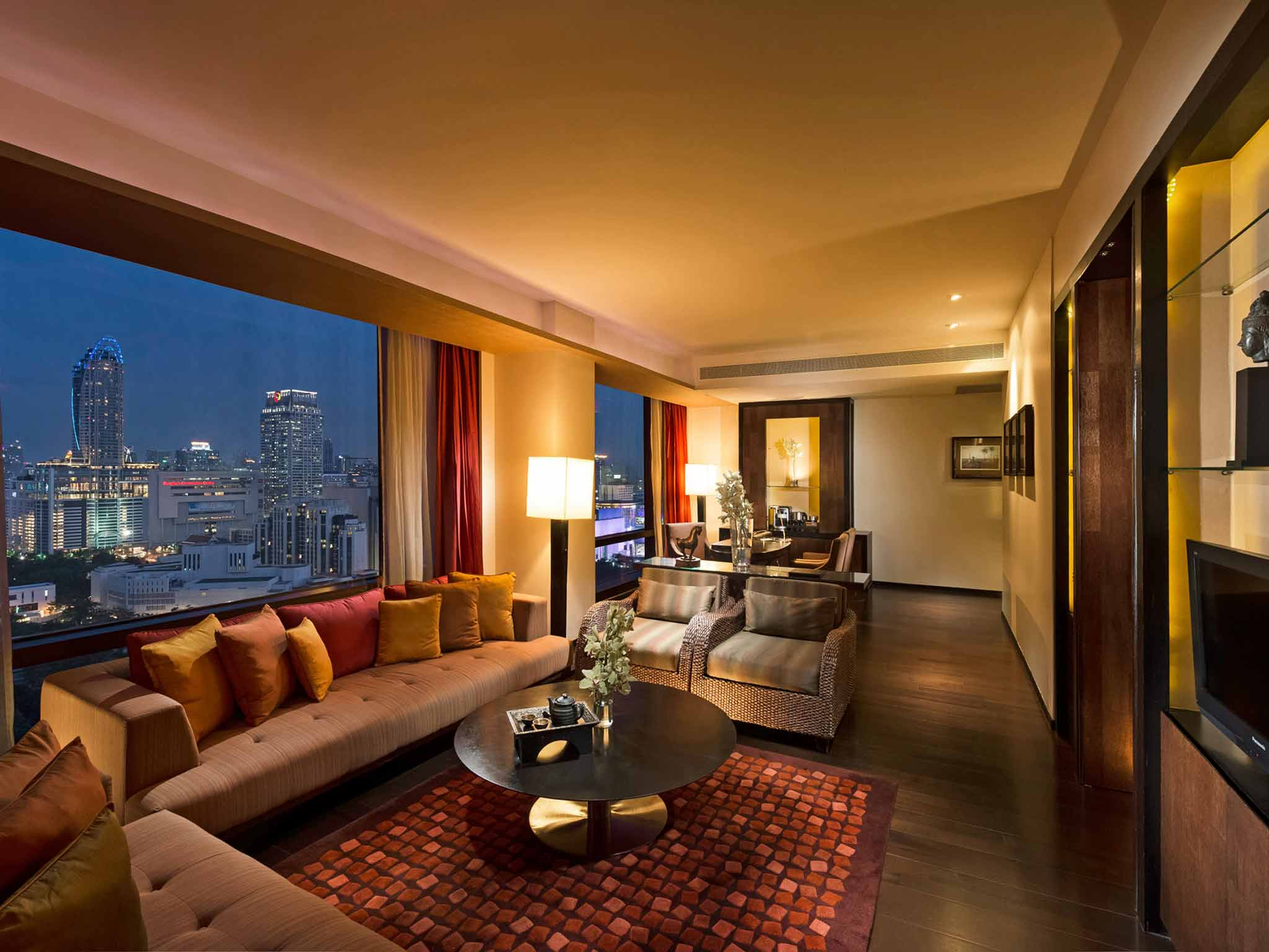 VIE Hotel Bangkok - MGallery Collection Vista do quarto
