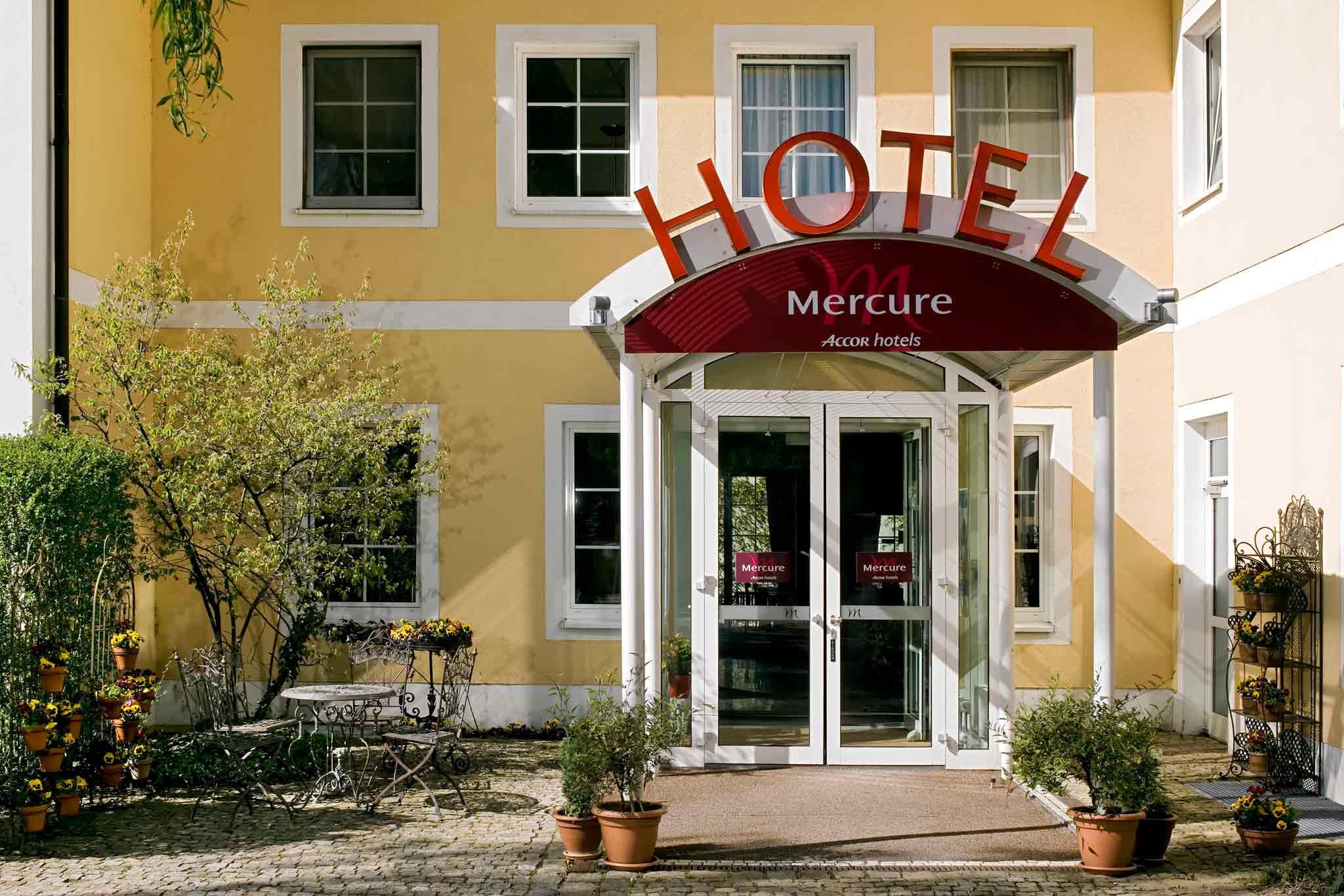 Mercure Hotel München Airport Aufkirchen Außenansicht