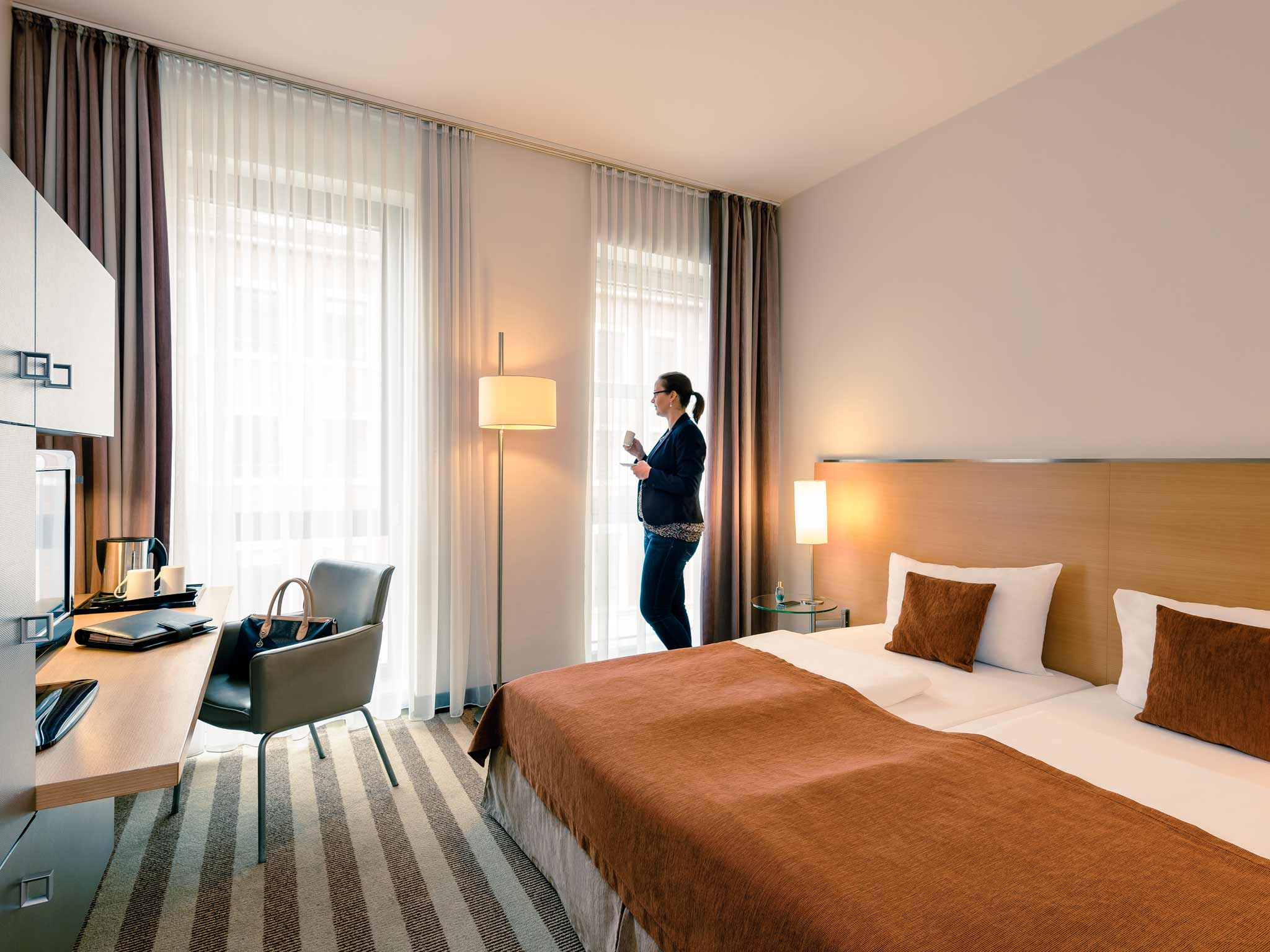 Mercure Hotel Aachen am Dom 客房视图