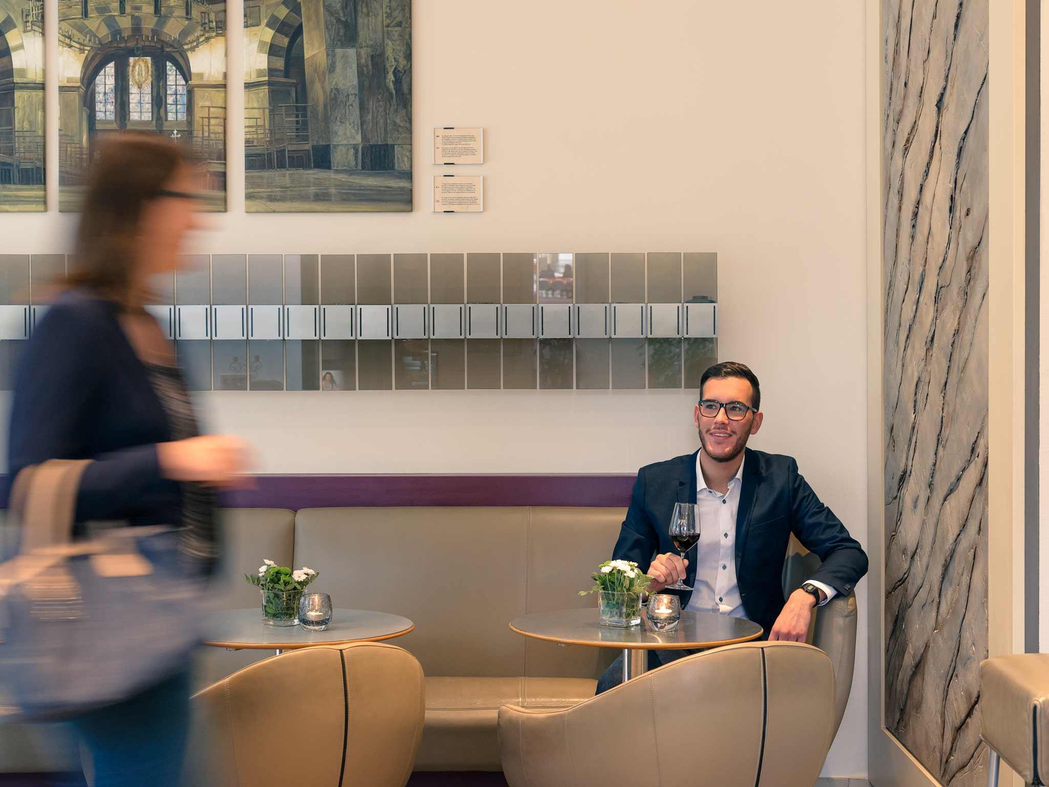 Mercure Hotel Aachen am Dom 前厅