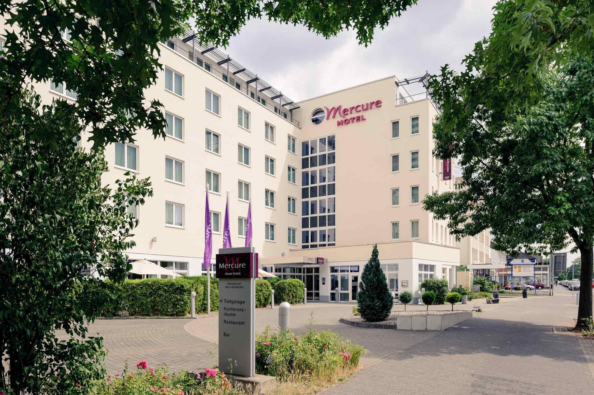 Mercure Hotel Frankfurt Airport Neu-Isenburg Buitenaanzicht