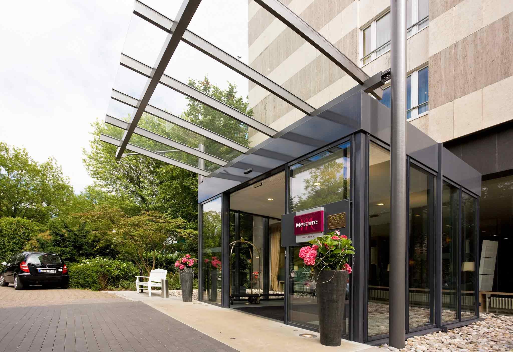Mercure Parkhotel Krefelder Hof Außenansicht