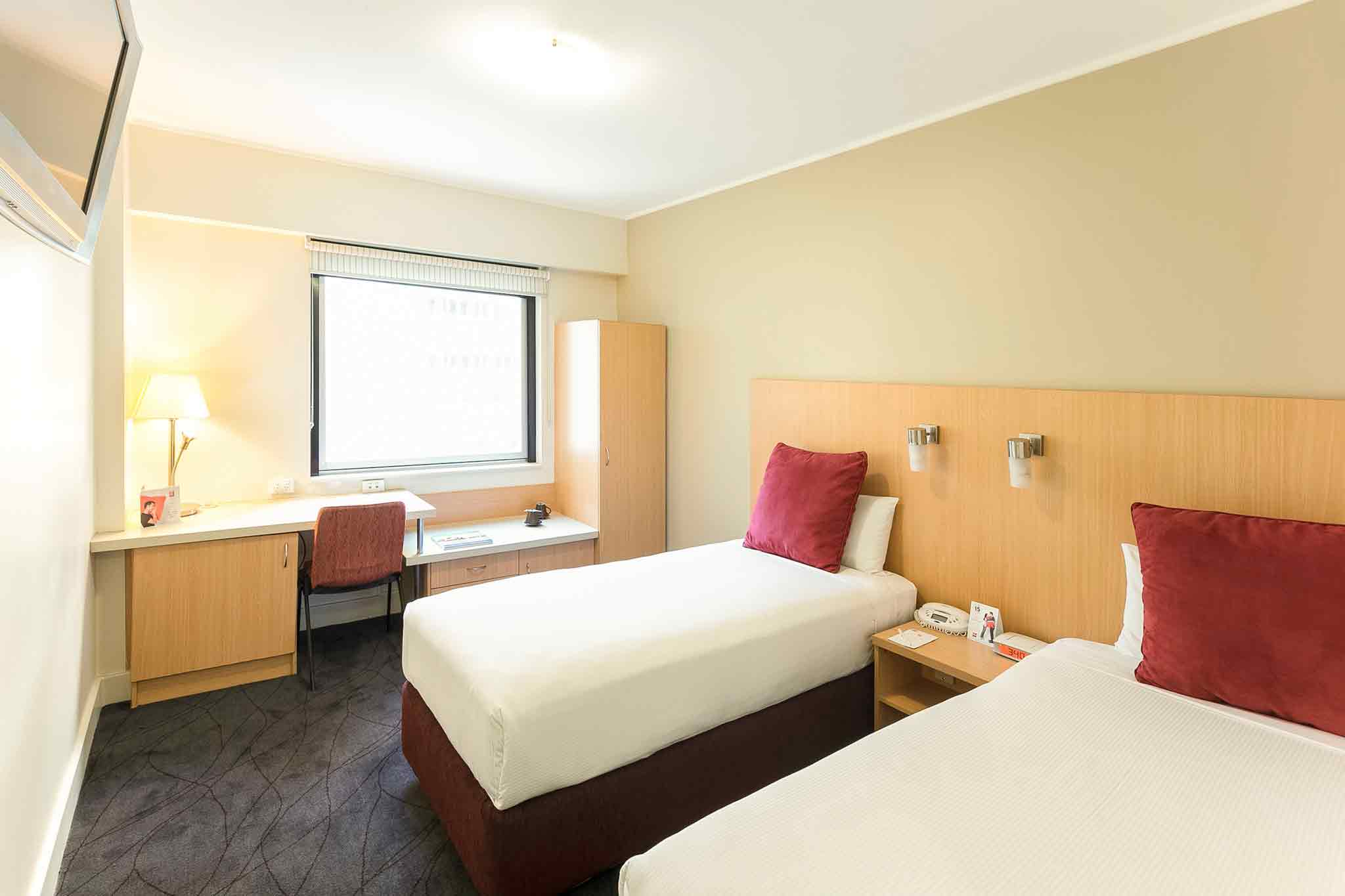Ibis Sydney World Square 客房视图