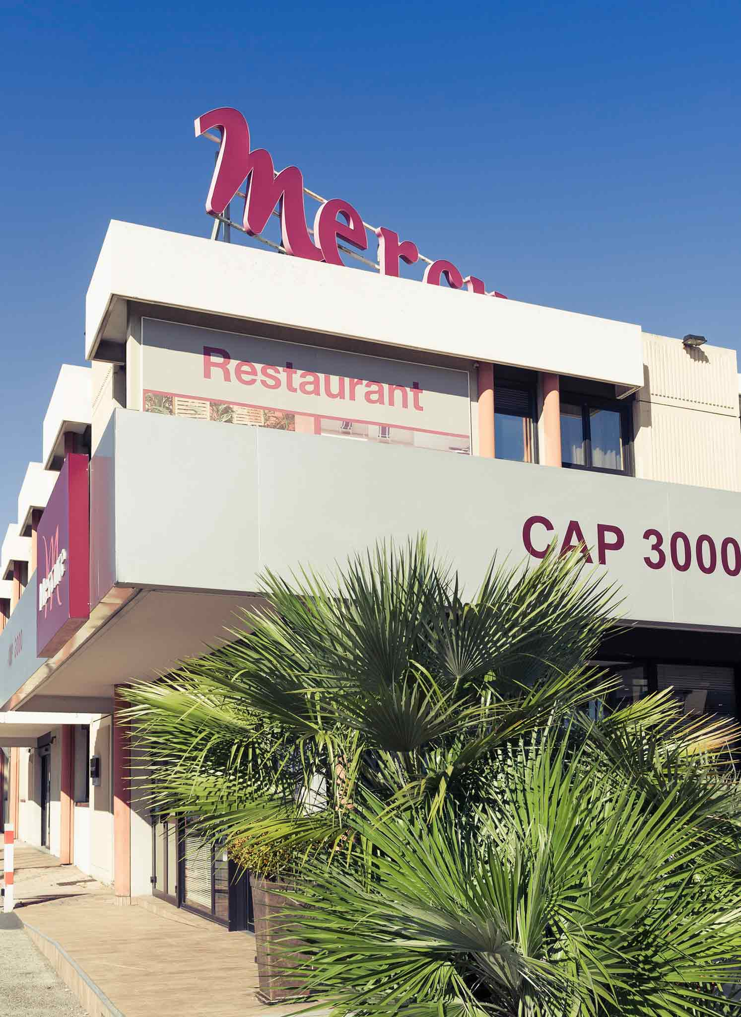 Mercure Nice Cap 3000 Aeroport Set udefra
