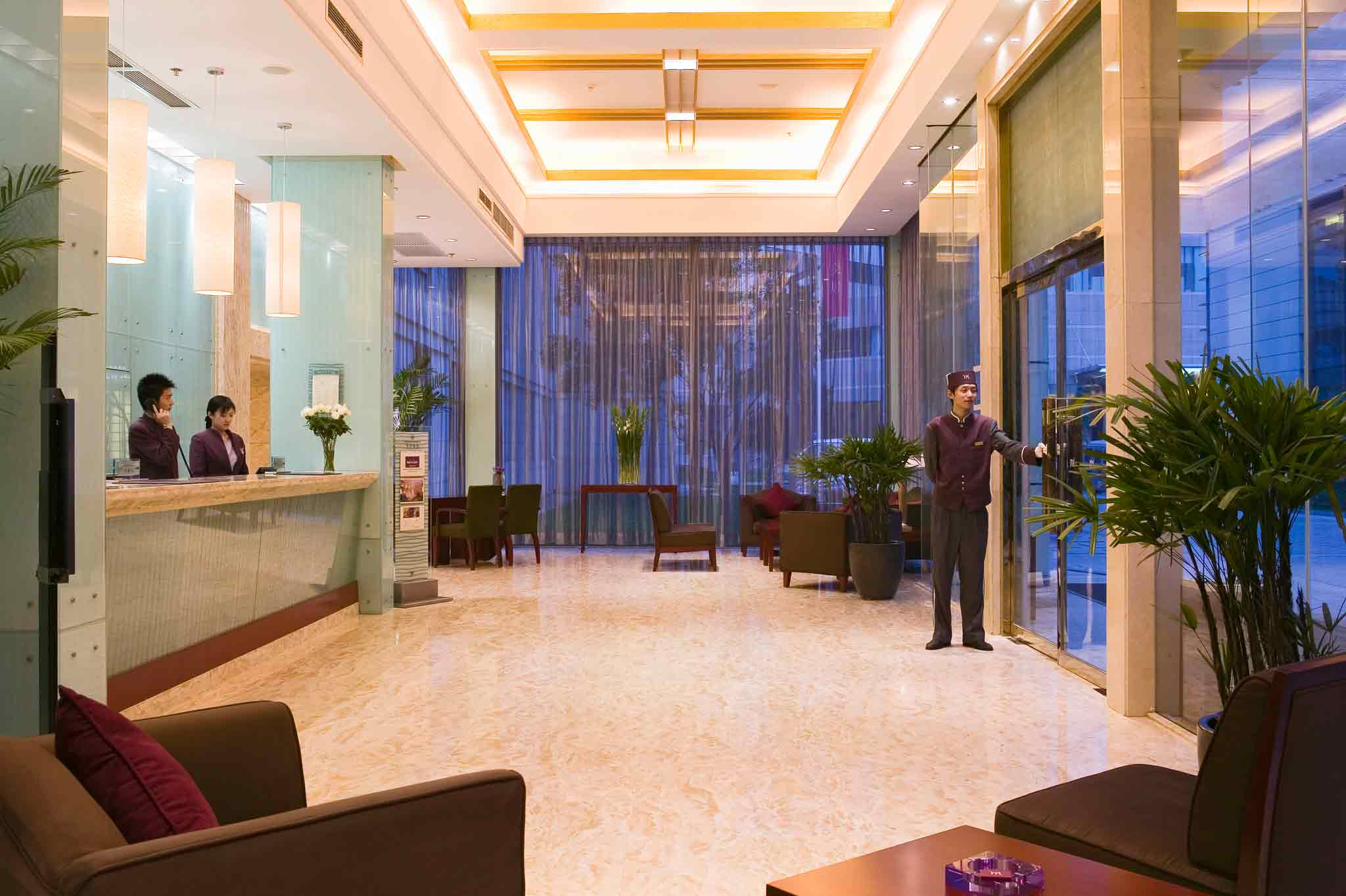 Mercure Xian on Renmin Square Vista exterior