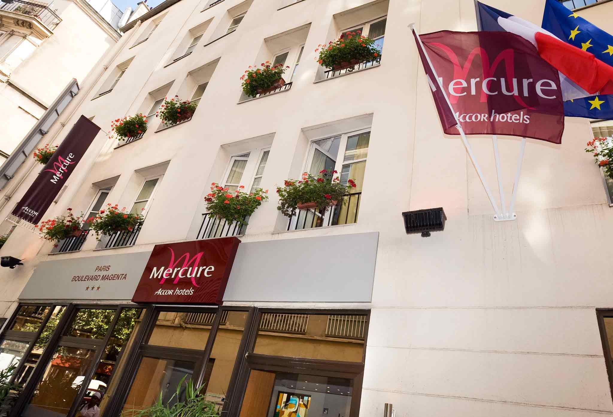 Mercure Paris Boulevard Magenta Außenansicht