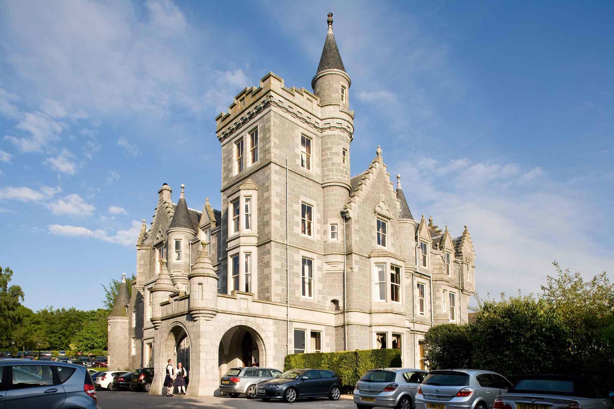 Mercure Ardoe House Hotel & Spa Aberdeen Vista exterior