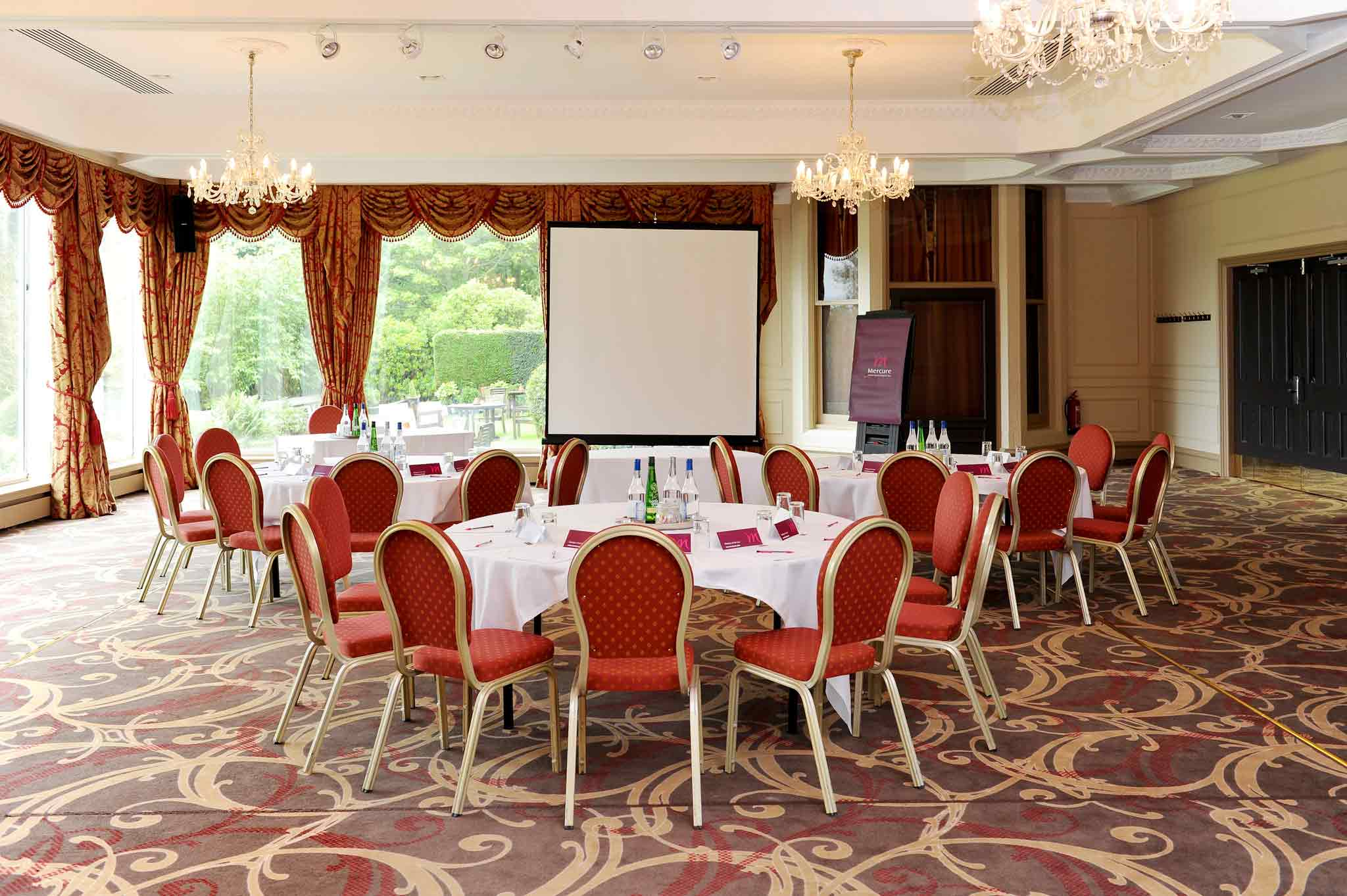 Mercure Ardoe House Hotel & Spa Aberdeen Sala de conferencias