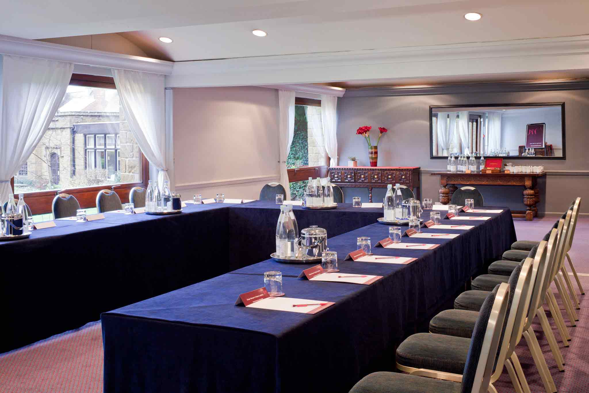 Hotel Mercure Whately Hall Banbury Meeting room