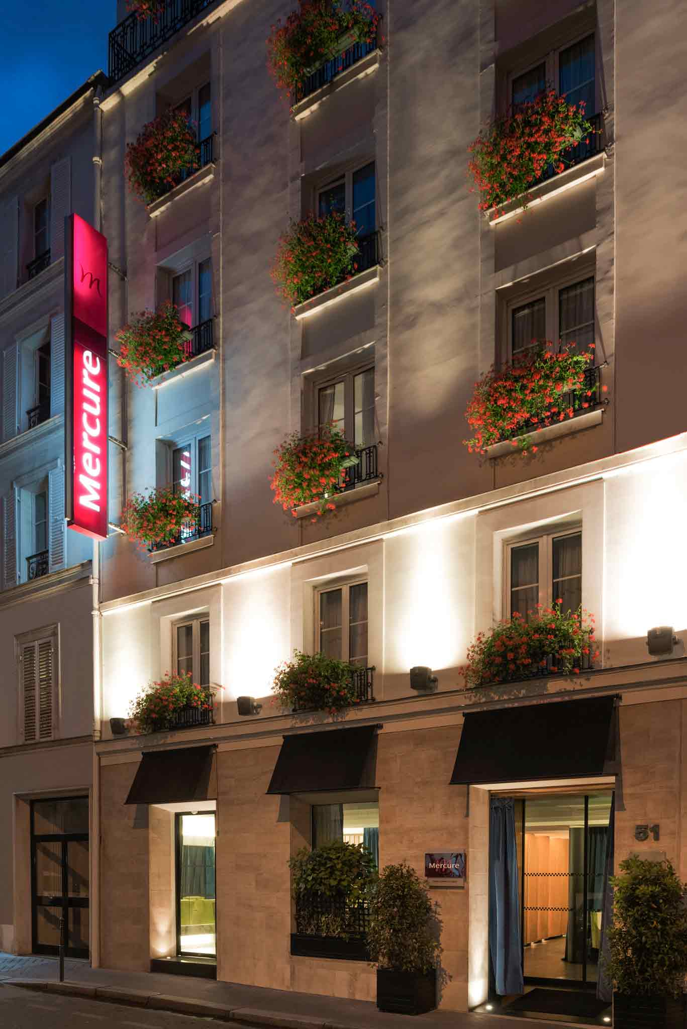 Mercure Paris Champs Elysees Außenansicht