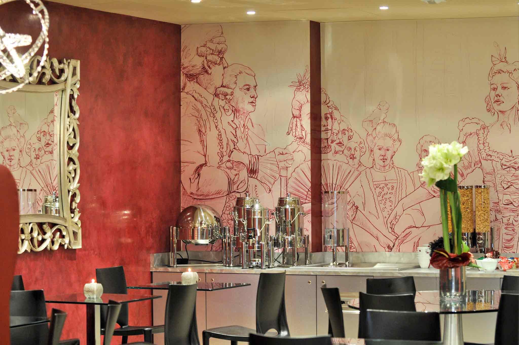 Mercure Paris Voltaire Quartier Bastille Gastronomie