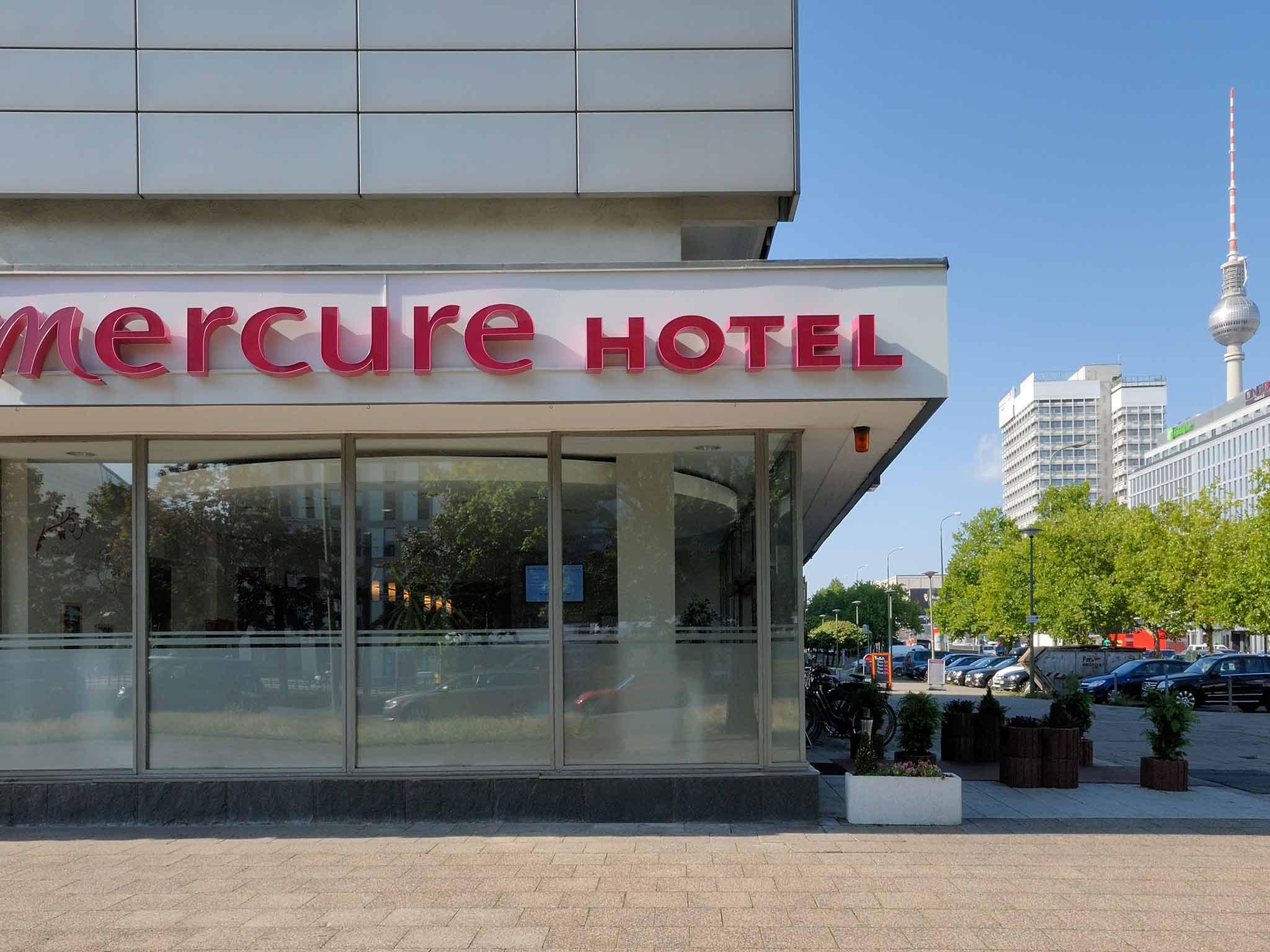 Mercure Hotel Berlin am Alexanderplatz Kilátás a szabadba