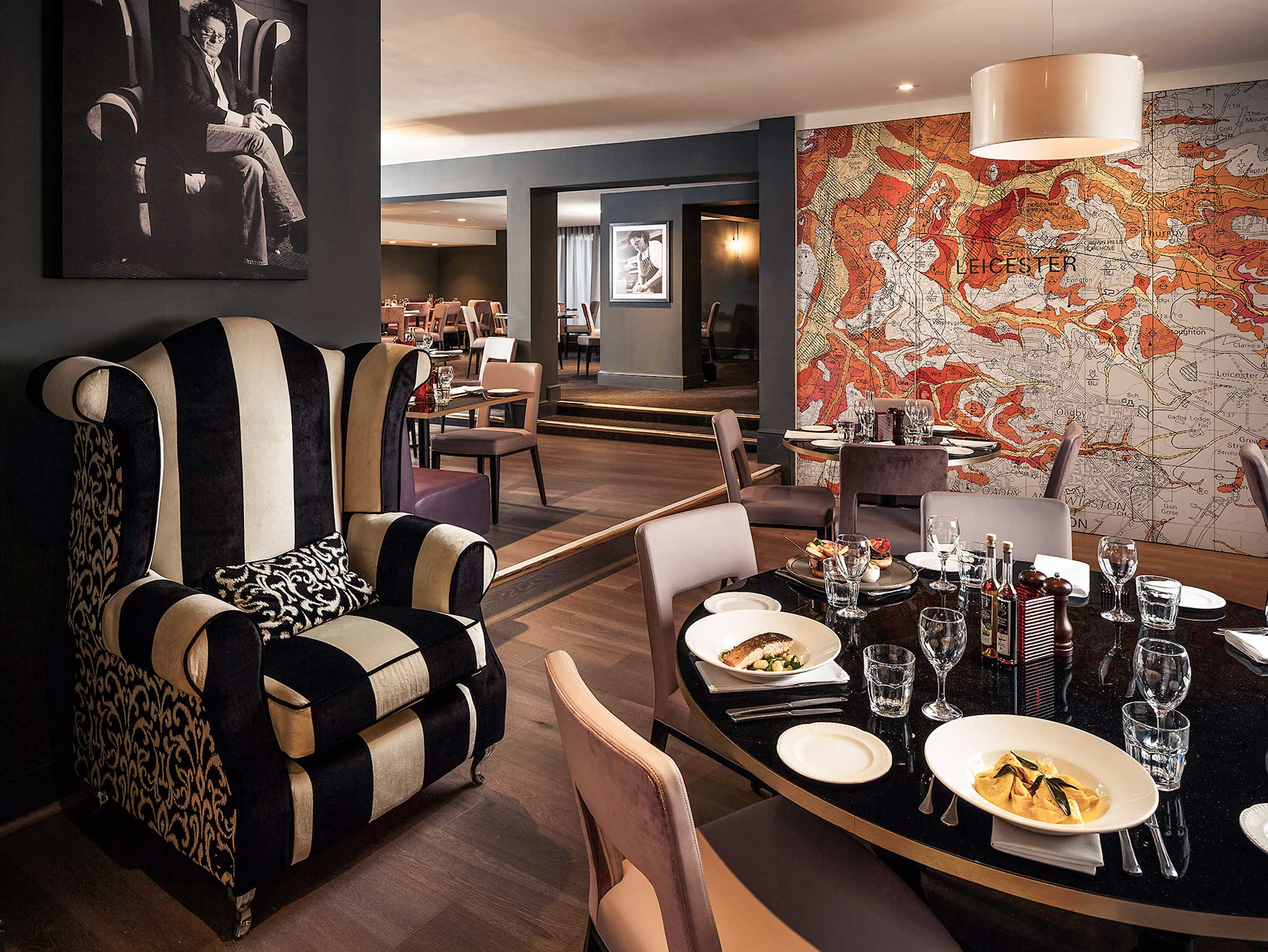 Mercure Leicester The Grand Hotel Gastronomie