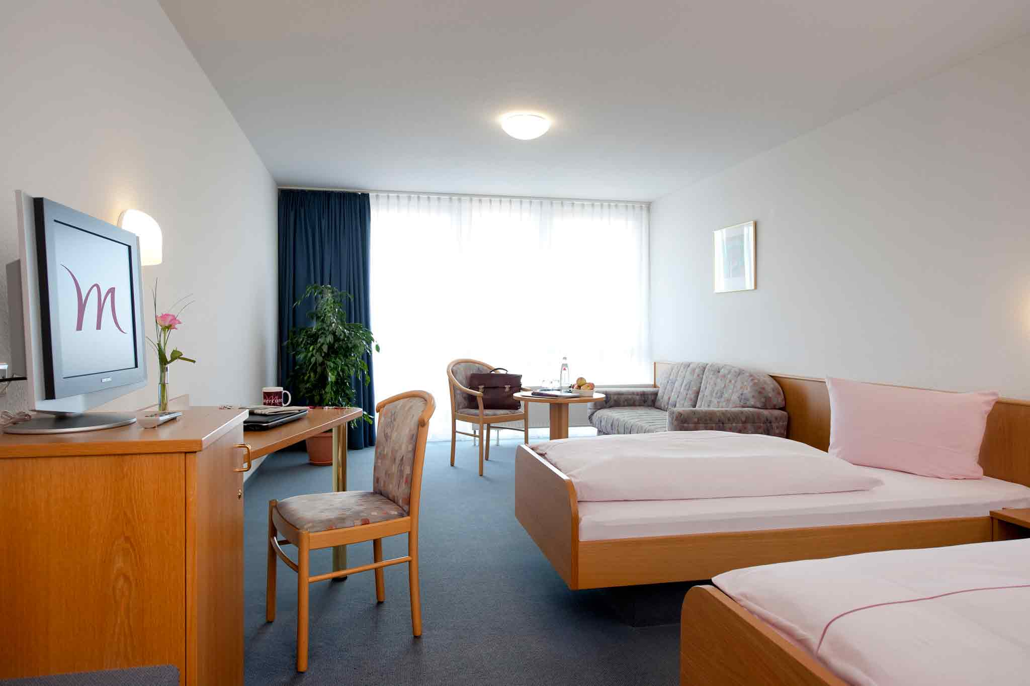 Mercure Hotel Stuttgart-Schwieberdingen Vista della camera
