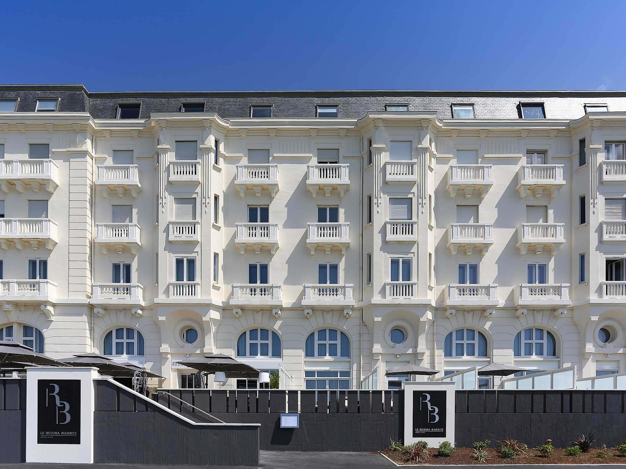Le Regina Biarritz Hotel & Spa - Mgallery Collection Außenansicht