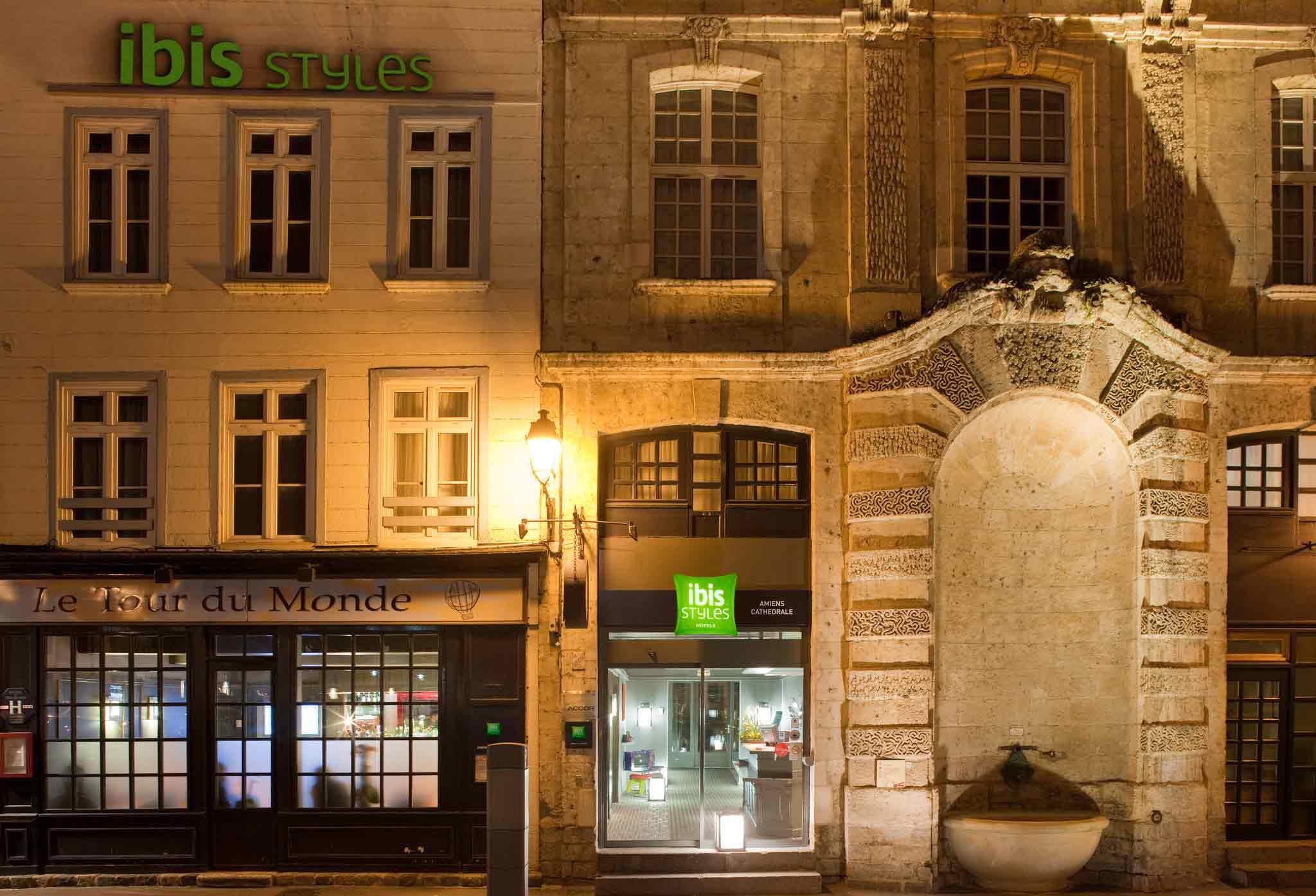 ibis Styles Amiens Cathedrale Außenansicht