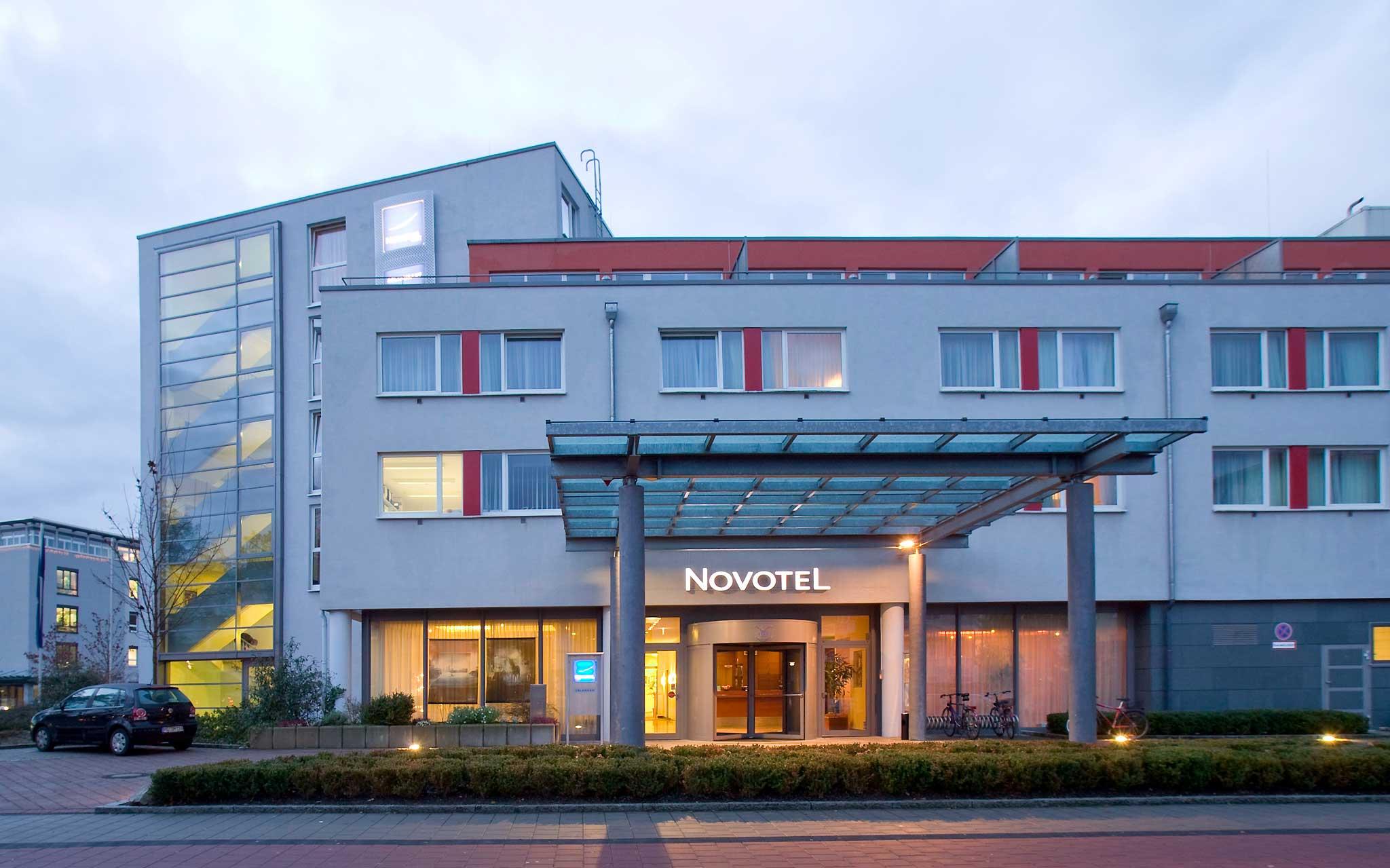 Novotel Erlangen Set udefra