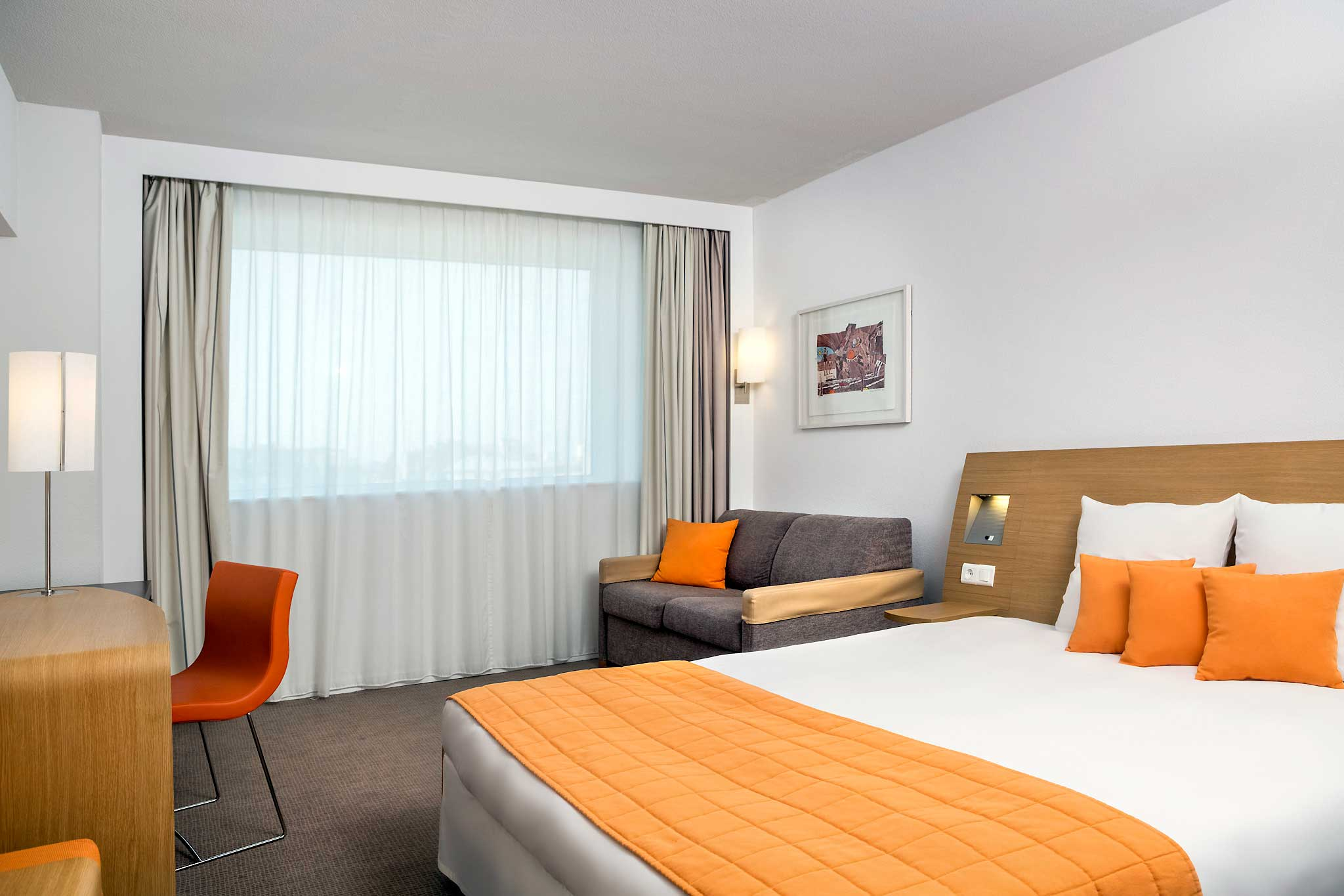 Novotel Bucharest City Centre 客房视图
