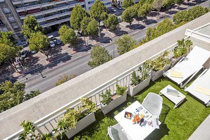 Novotel Marseille Centre Prado Zimmeransicht