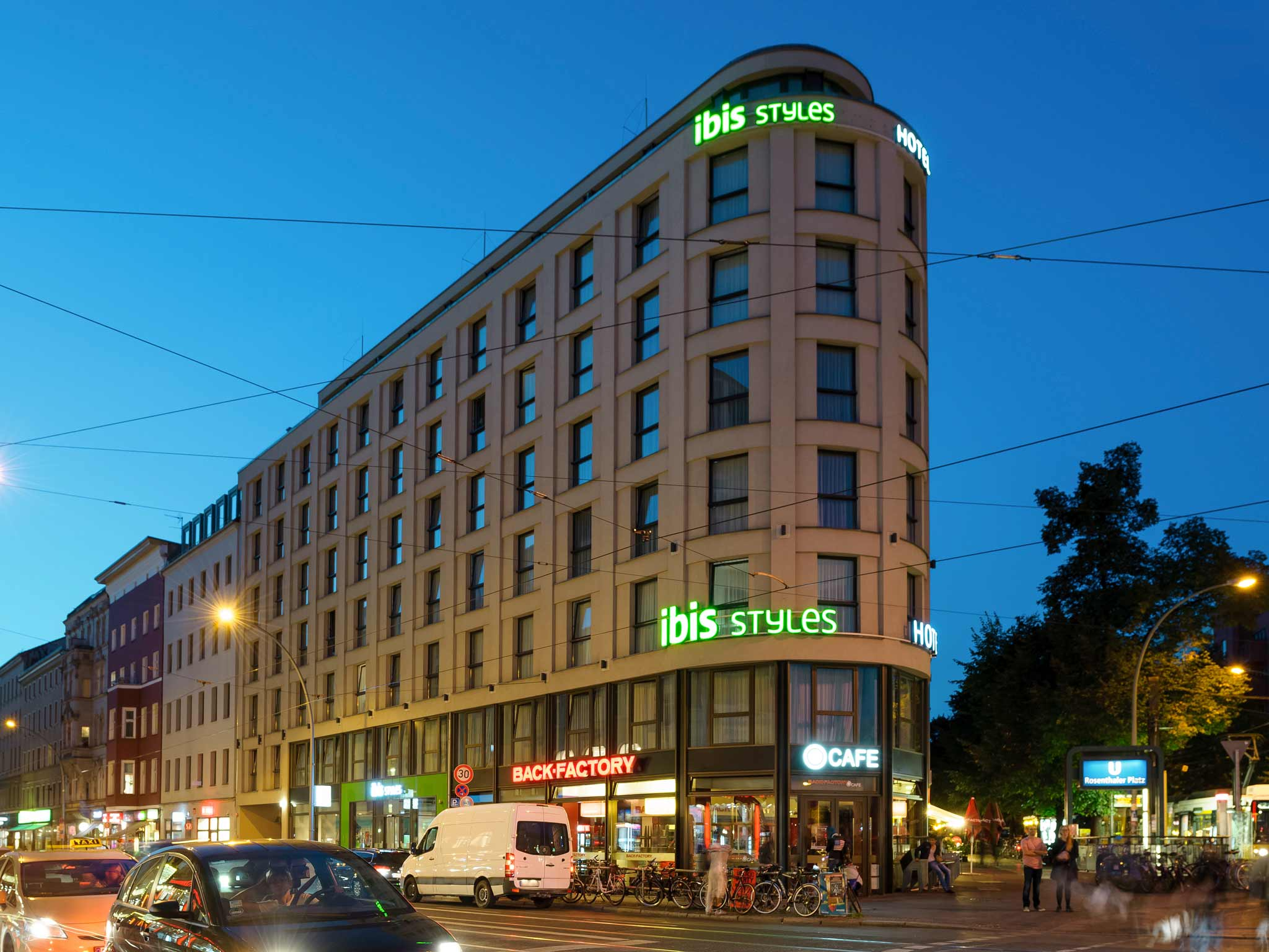 ibis Styles Hotel Berlin Mitte 外景