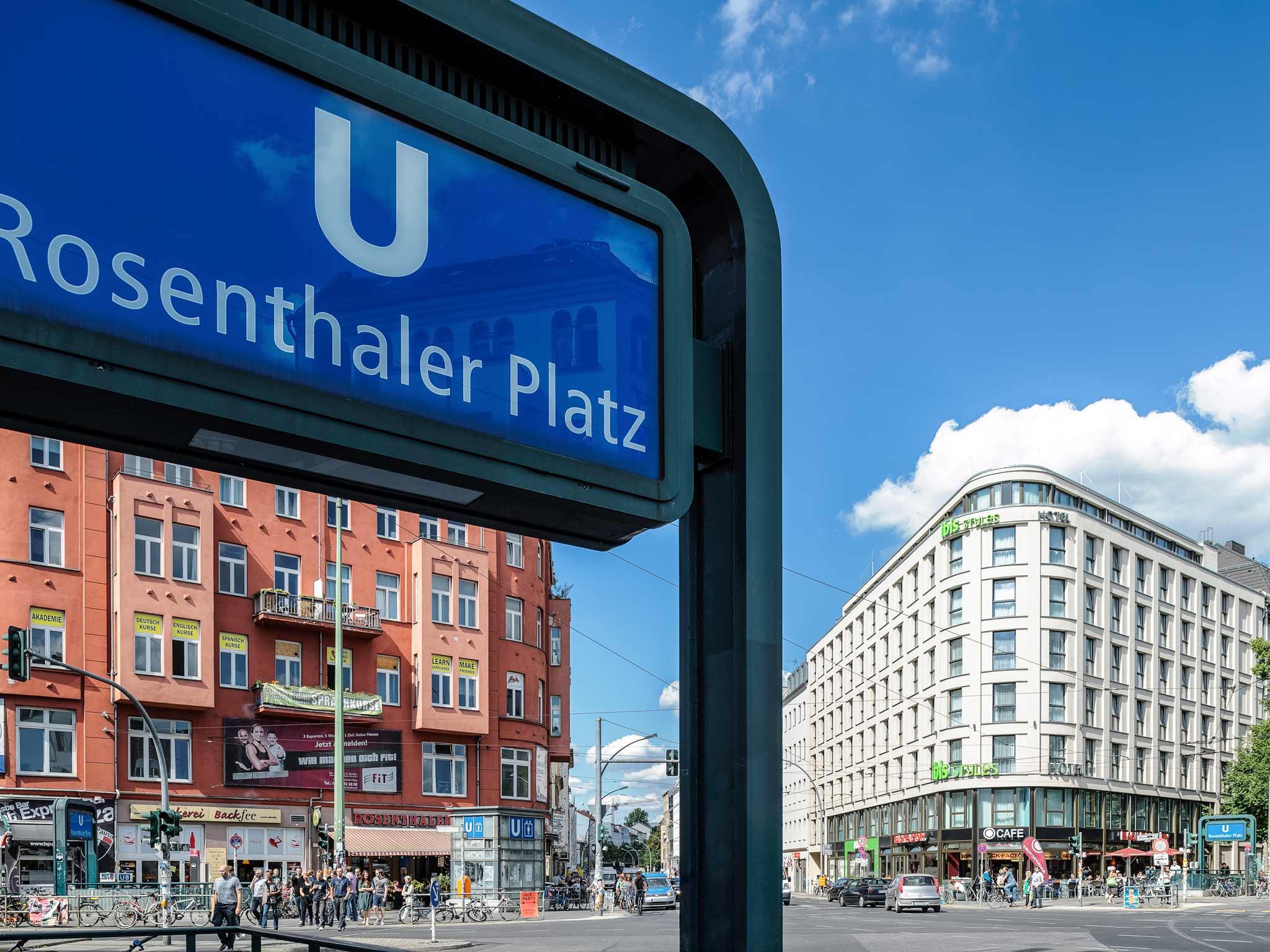 ibis Styles Hotel Berlin Mitte Widok z zewnątrz