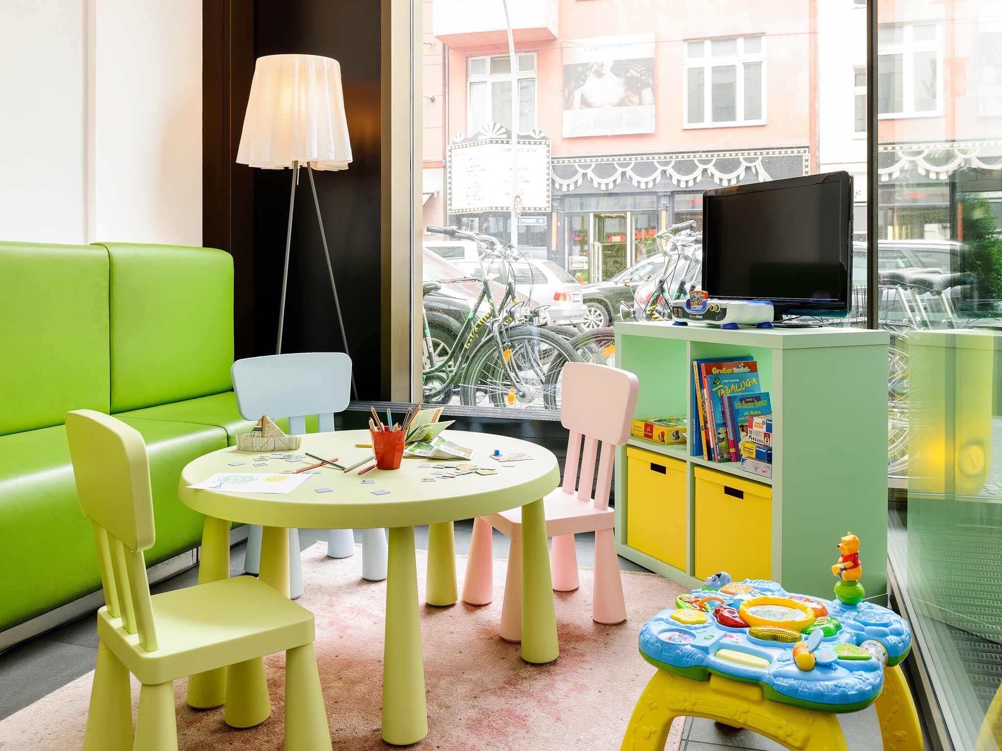 ibis Styles Hotel Berlin Mitte Centrum rekreacyjne