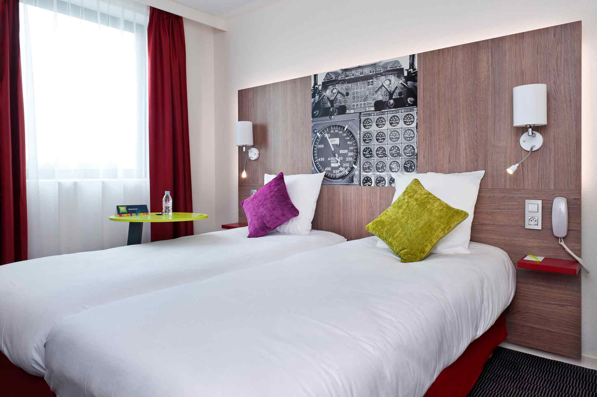 ibis Styles Toulouse Cite Espace Zimmeransicht
