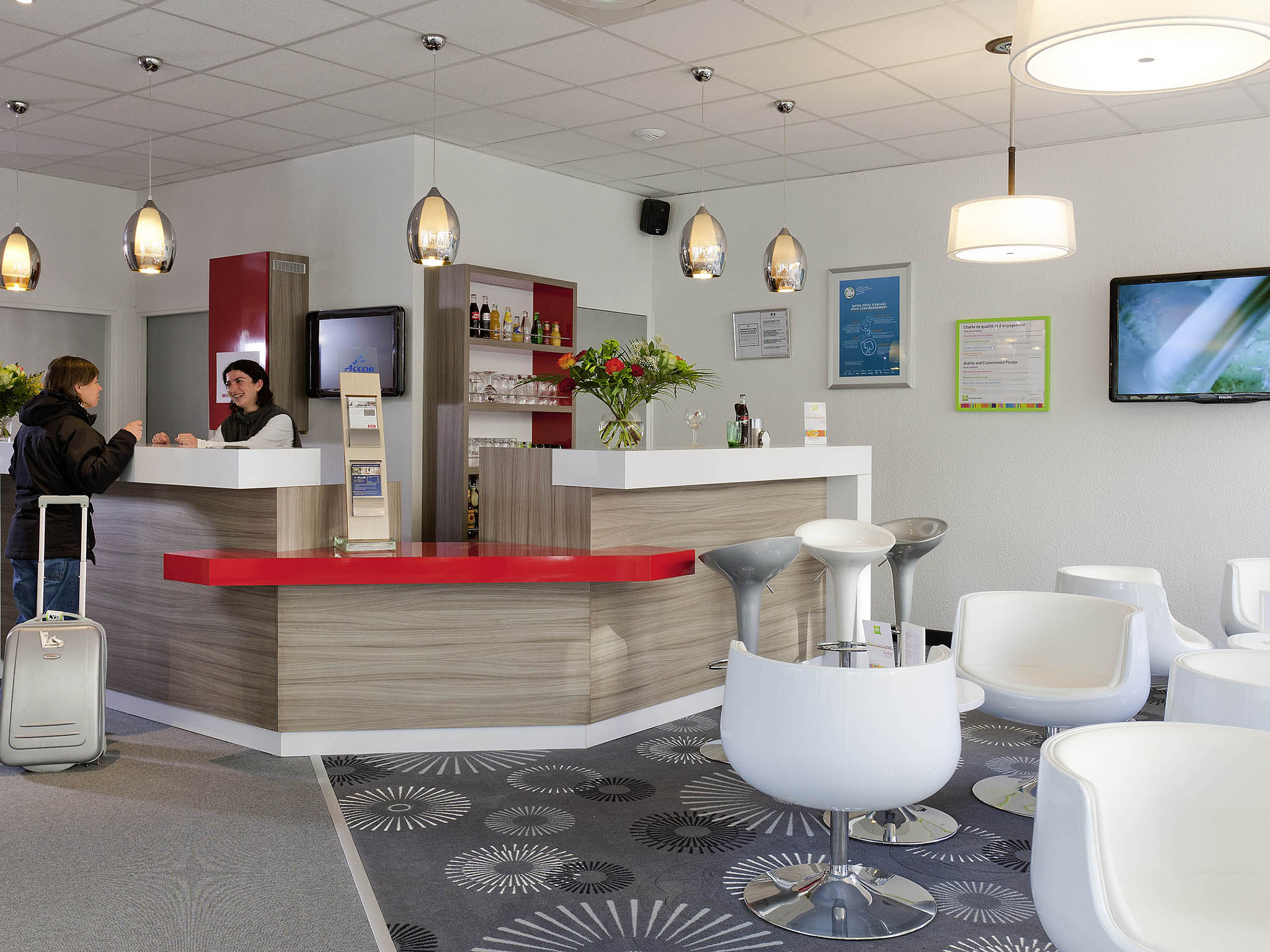 ibis Styles Grenoble Centre Gare Lobby