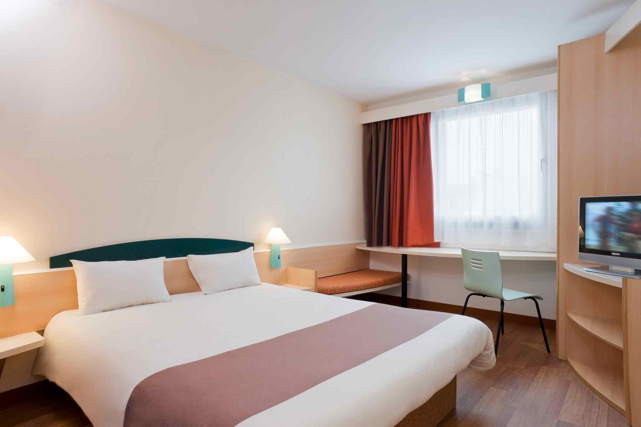 Ibis Hotel St. Pauli Messe Zimmeransicht